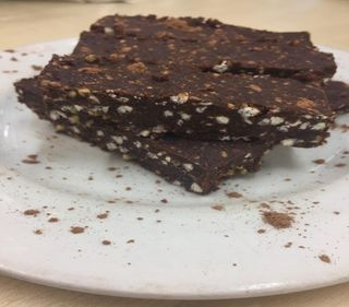 CHOCOLATE BUCKWHEAT BROWNIE BARS