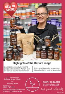 NEW IN STORE - BePure Range