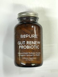 IN STORE SPECIAL - $10 off BEPURE Gut renew Probiotic 120'S