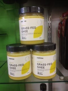 NEW IN STORE - Melrose Organic Grass-Fed Ghee