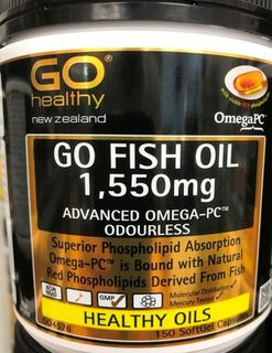 Everyday Specials Go Fish Oil 1550mg Advanced Omega – PC
