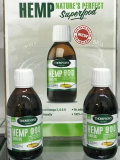 NEW IN STORE - Thompsons Hemp Seed Oil