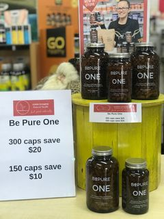 IN STORE SPECIAL - BE PURE ONE SAVE $20 ON ALL SIZES!!