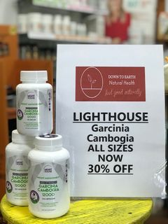 IN STORE SPECIAL - GARCINIA CAMBOGIA  ALL SIZES NOW 30% OFF