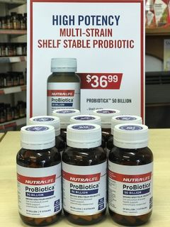 IN STORE SPECIAL - Nutra Life ProBiotica 50 Billion (While stocks last)