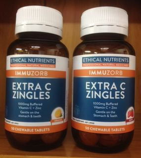 NEW IN STORE - Ethical Nutrients Extra C Zingles