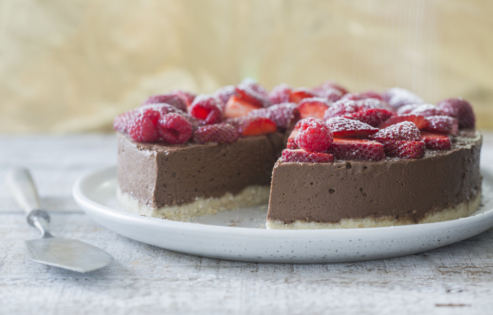 DAIRY FREE CHOCOLATE CHEESCAKE
