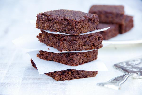 HEMP AND KUMARA CHOCOLATE BROWNIES