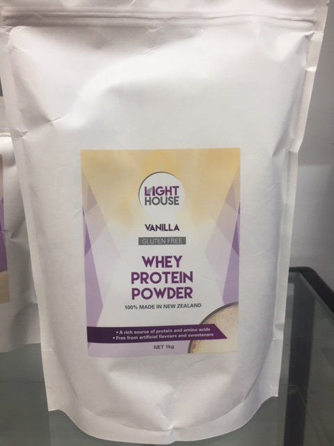 NEW IN STORE - Light House Whey Protein Powder