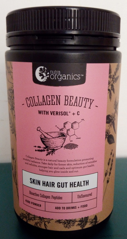 NEW IN STORE - Nutra Organics Collagen Beauty