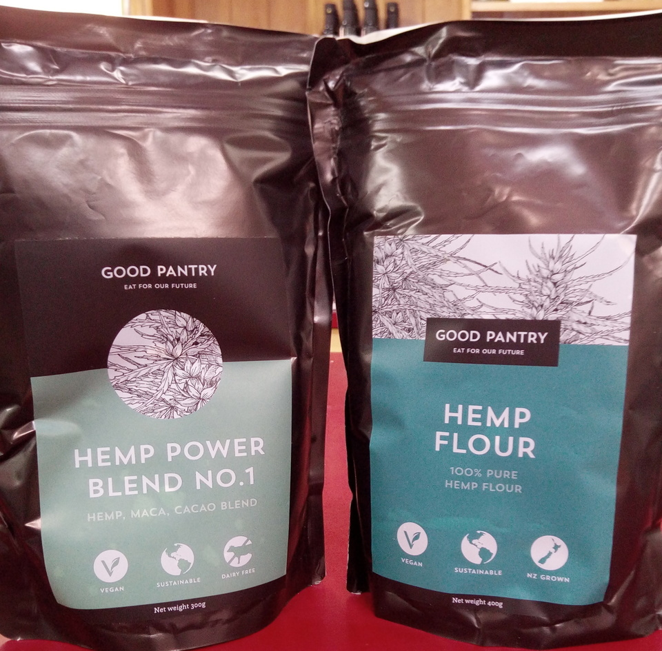NEW IN STORE - Hemp flour and Hemp, maca, cacao blend