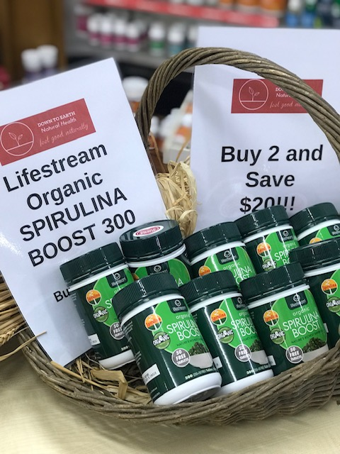 IN STORE SPECIAL - BUY 2 AND SAVE $20 ON LIFESTREAM SPIRULINA