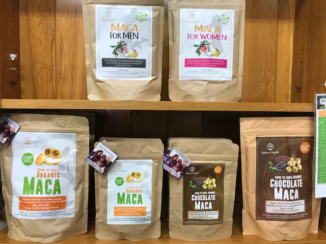 NEW IN STORE - Seleno Health Maca Range